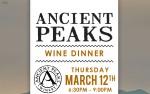 Image for Ancient Peaks Wine Dinner
