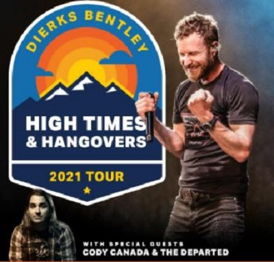 Dierks Bentley: High Times Hangovers 2021 at The Blind Horse Saloon on May 12, 2021 10:00 PM