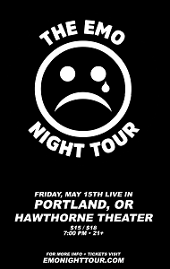 Image for *NEW DATE* THE EMO NIGHT TOUR