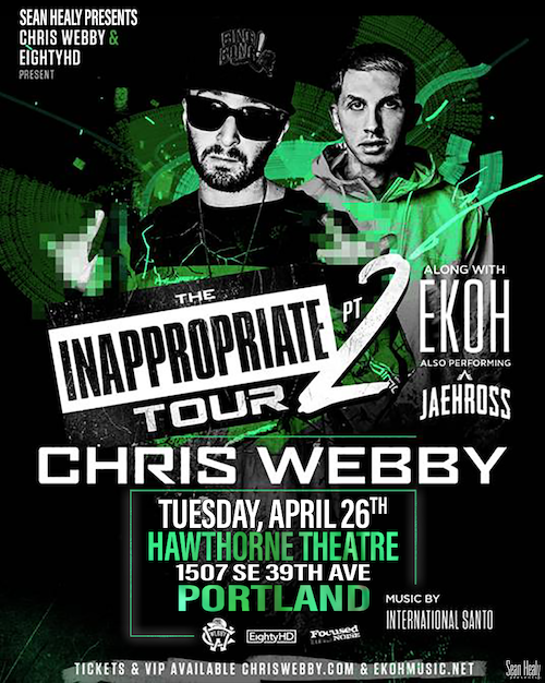 Image for *POSTPONED* Sean Healy Presents: Chris Webby - World Wide Web Tour Finale