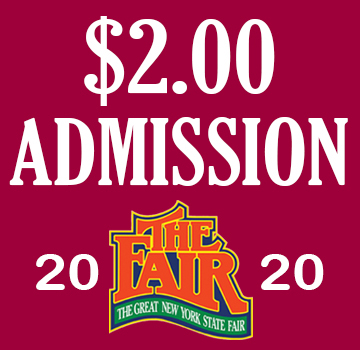 Image for $2.00 - Gate Admission Special- August 21-September 7, 2020