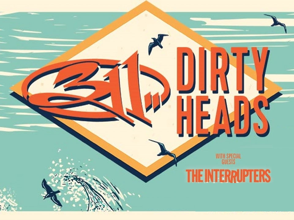 Image for 311, DIRTY HEADS, THE INTERRUPTERS - Wednesday, July 3, 2019 (OUTDOORS)