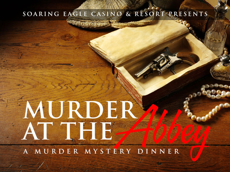 Image for MURDER MYSTERY DINNER - MURDER AT THE ABBEY - Thursday, March 12, 2020