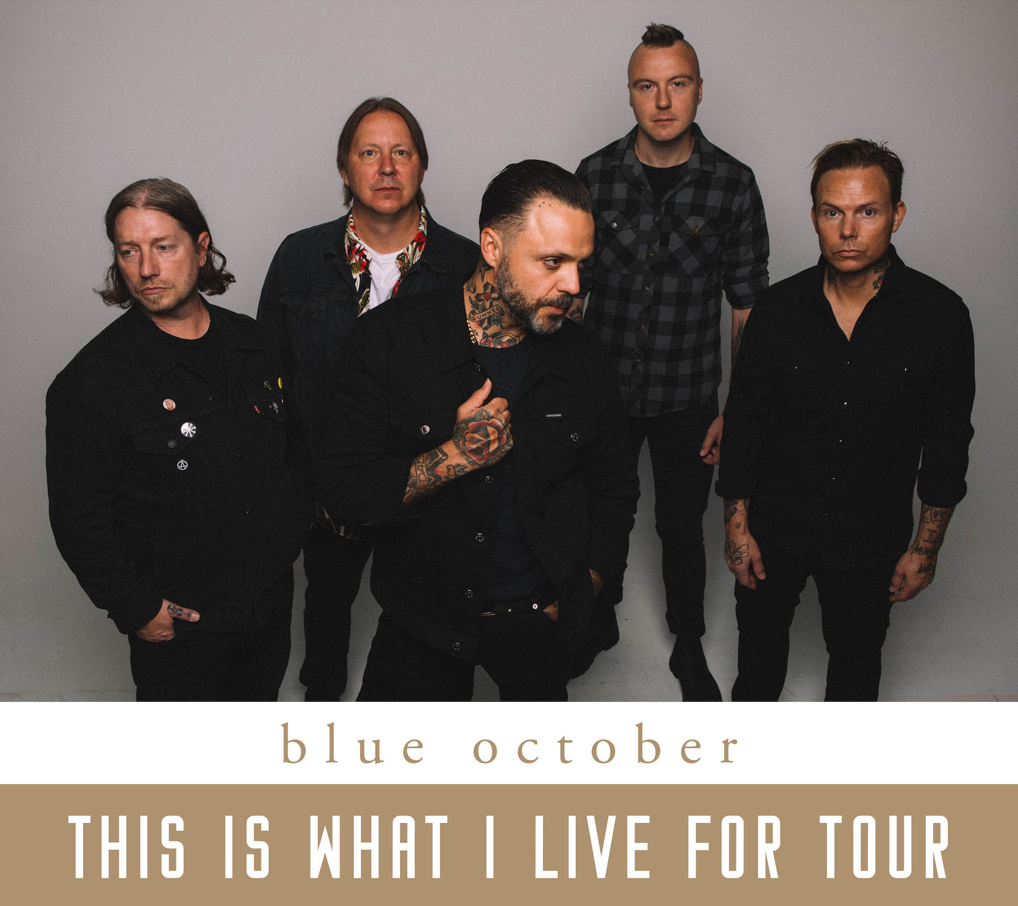 Image for *NEW DATE* BLUE OCTOBER
