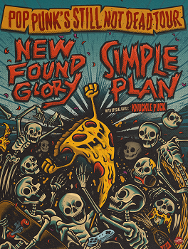 Image for NEW FOUND GLORY / SIMPLE PLAN - Pop Punk's Still Not Dead Tour