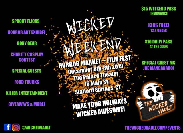 Image for Wicked Weekend Horror Market: December 6-8, 2019